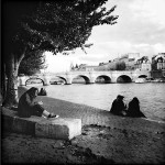 Picnic by the Seine © Annie Mallégol